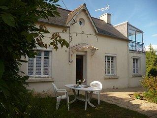 Maison grand confort avec jardin au cœur de la Bretagne.Tour de France 2018 !