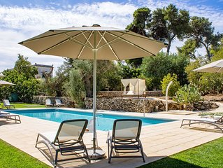 Tenuta Don Salvatore, Villetta con piscina a 7 km da Gallipoli - (Gelsomino)