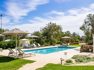 Tenuta Don Salvatore, Villetta con piscina a 7 km da Gallipoli - (Ulivo)