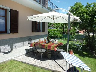 Lago di Como - Confortevole e accogliente appartamento  con giardino