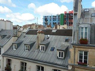 En plein ceour du Marais, cosy appartement near Beaubourg