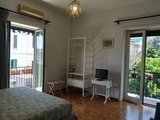 Entire apartment with 2 bedrooms + 1 double sofabed in livingroom, 2 bathrooms.