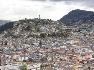 Apartamento en Quito con las mejores vistas del Centro Colonial