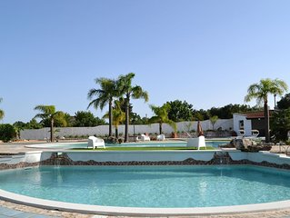 Villa Giorgia–Fabulous Villa with swimming pools, just 8 min. from Torre Guaceto