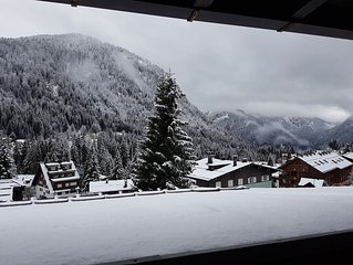 Meravigliosa vista sulle Dolomiti di Brenta, ampio soggiorno per rilassarsi