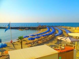 Splendido Appartamento ALL INCLUSIVE Spiaggia con Piscina e Ombrellone privato
