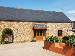 A beautiful, spacious, luxury 3 bedroom holiday home on a small farm.
