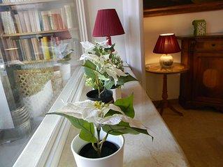 Large, elegant apartment in Monte Verde Vecchio (Janiculum hill).