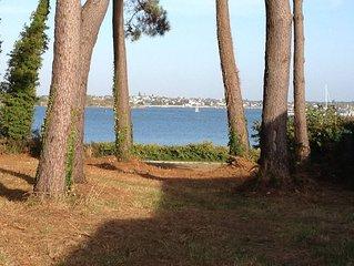 Maison petite vue mer avec jardin