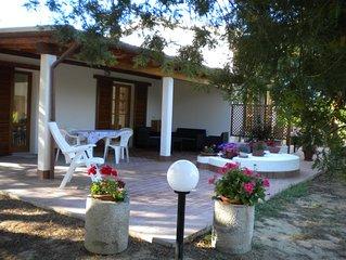Grazioso monolocale in villetta bifamiliare con giardino all'Isola d'Elba