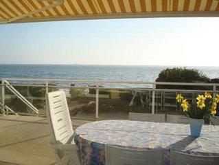 Appartement face mer acces direct a la plage Pornichet - Bonne Source