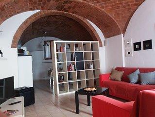 Barrel vault roof apartment: Casa Marcella