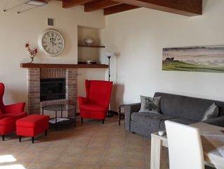 Appartamento-vacanze in agriturismo, vicino al Lago di Garda, per famiglie