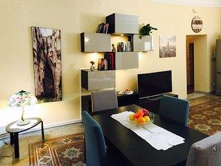 Elegante appartamento in pieno centro storico, nel cuore dell'isola di Ortigia