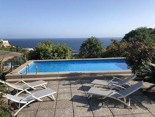 Villa Capri Panoramica Piscina e Giardino