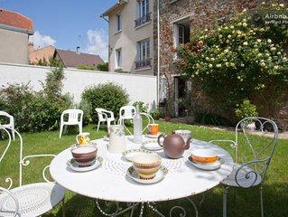 Grande maison pour 6 personnes avec Jardin aux portes de Paris