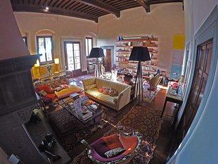 Luxury:in villa storica nelle colline intorno a Firenze