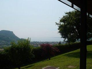 Comfortable Apartment with pool and fantastic views of Lake Garda.