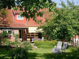 Wohlfuhlhaus mit grossem Garten in schoner Natur nahe der Ostsee