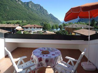 Ferienwohnung fur 2 Erw. + 1 Kind, toller Blick, 200m zum See/ Strand, Garten