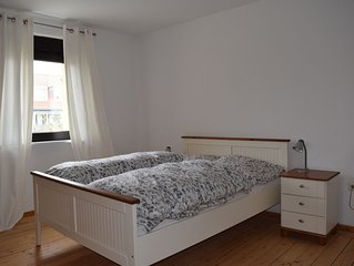 60 m2  Apartment mit 2 Schlafzimmer in ruhige Wurzburg-Frauenland