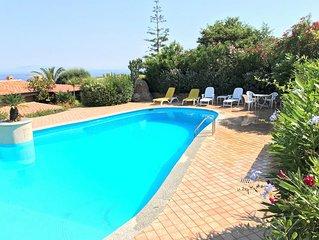 Villa Paola, Meerblick, grosser Pool