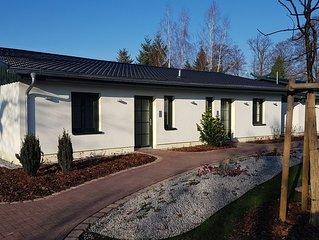 Erholen im Spreewald - Helles, modernes Ferienhaus  mit Terrasse, gratis WLAN