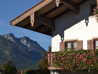 Neu renovierte FeWo. Kostenlose Chiemgau-Karte fur die schonste Zeit des Jahres
