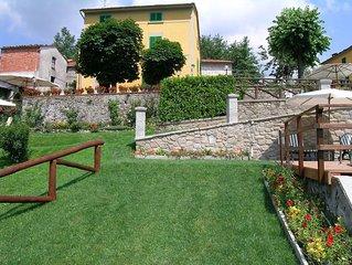 Ferienwohnung im kleinen Weiler, mit Pool, Whirlpool und Sauna