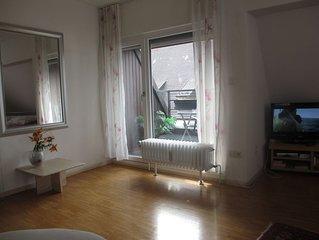 2 Zi. Wohnung in direkter Altstadtlage Am Rathausplatz mit Sudwest Balkon