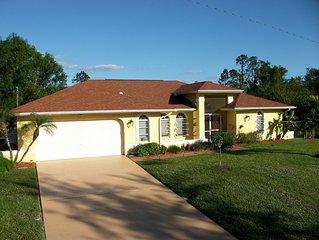 Traumhaftes Ferienhaus Villa Nähe Fort Myers* Lehigh Acres Florida* Golfküste