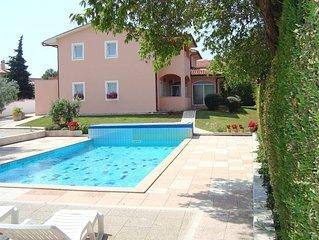 Swimmingpool-Villa Brioni 2 EG mit privatem Pool in Strandnähe nördlich von Pula