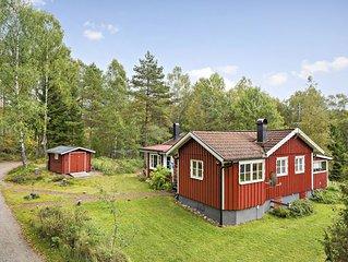 Ruhig gelegenes Ferienhaus fur max. 6 Personen mit Sauna und Badetonne