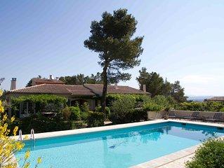 Ferienwohnung in einem grünen Wohnviertel des Städtchens Cavaillon im Luberon.