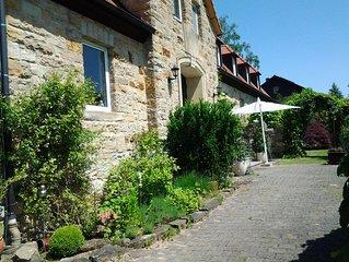 Stilvolle Ferienwohnung in historischem Gebaude, Naturpark Hassberge