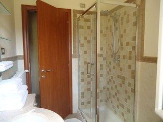 Apartment Ninfea,  Ferienwohnung fur 2- 3 Pers, Terrasse, Garten, ruhige Lage