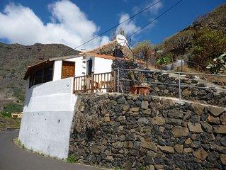 ruhiges canarisches kleines Landhaus in direkter Nähe zu Hermigua