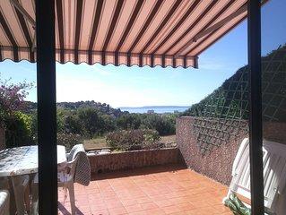 Appartement T2 entre BORMES LES MIMOSAS et LE LAVANDOU , 50m2 vue mer, climatisé