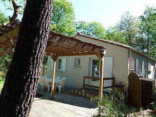 Maison de vacances, au calme d'un impasse du village de bord de mer de Jard/mer