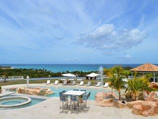 Sandyline - Villa de grand luxe avec vue imprenable sur la mer des Caraibes