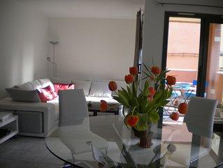 Appartement T4 meublé avec garage et terrasse centre historique de Perpignan