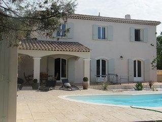 Magnifique Villa (Bastide) proche de la mer et du Pic Saint Loup
