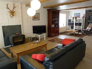 Grande et confortable maison de vacances, idéale pour réunions de famille / amis