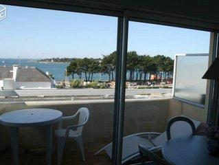 Studio avec belle vue mer EXCEPTIONNEL a 50m DE LA PLAGE SANS VIS A VIS