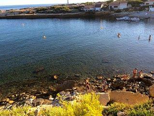 Appart E + Terrasse + Parc + Tennis, proxi Mer, au coeur de la Côte Bleue,