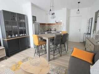 Appartement 2 chambres Place Toscane, Val d'Europe, 10min Disneyland (TOSCANE 3)