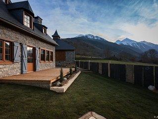 Chalet de caractere grand confort & SPA avec vue sur la Vallee  - Le NEOUVIELLE