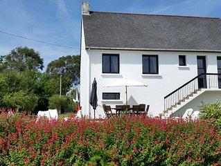 Belle Maison Sarzeau 200m PLAGE, VUE MER, Landrezac COTE OCEAN 8 Pers