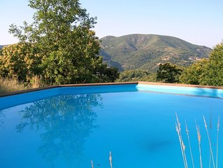 Villa avec piscine privee, vue superbe