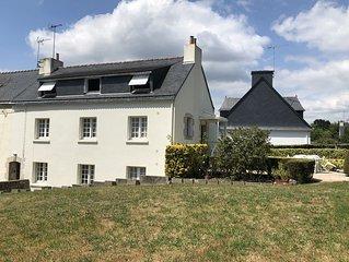 Appartement/maison 6 personnes - Au calme à 750 m de la mer - CLOHARS-CARNOËT